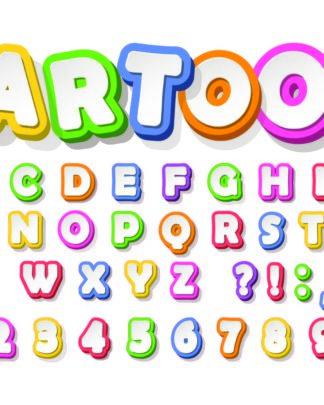 Pegatinas de vinilo stickers ABC
