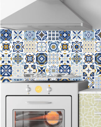 Vinilos cocina azulejos arabe