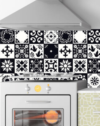 Vinilos cocina azulejos mexicano