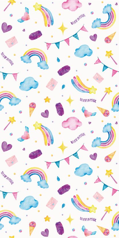 Vinilos infantiles arcoiris