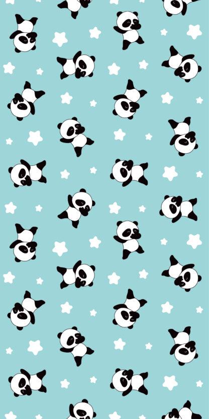 Vinilos infantiles osos pandas