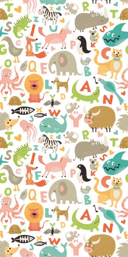 Vinilos infantiles zoo