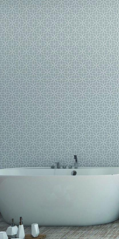 Vinilos para dormitorios geometrico gris