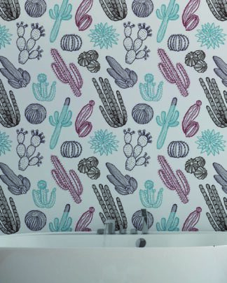 Vinilos para dormitorios cactus