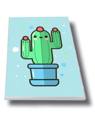 Cuadro cactus blue