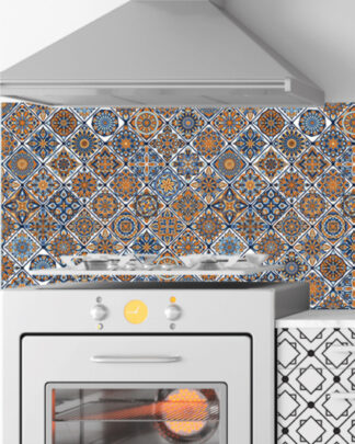 Vinilos cocina azulejos mandala