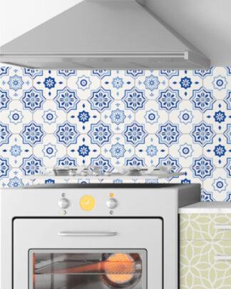 Vinilos cocina azulejos andaluz